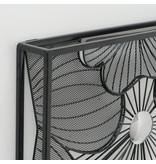 Wanddekoration 3d Stiefmütterchen 75x75cm