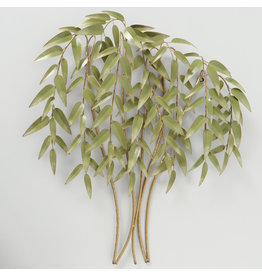 Wall decoration metal 3D Willow
