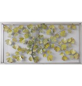Wall decoration 3D in frame Foliage 135x7x70cm