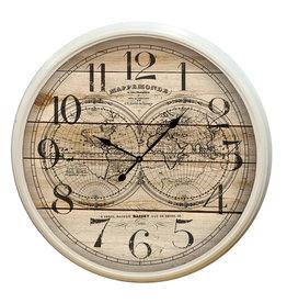 Eliassen Wall clock around Super large 115 cm globe