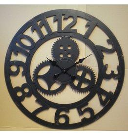 Eliassen Wall clock large around Cogs