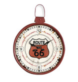 Eliassen Wandklok groot rond Route 66