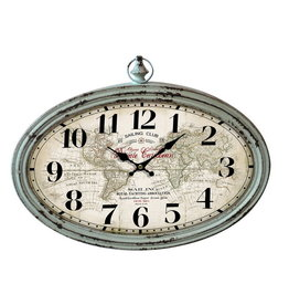 Eliassen Wall clock oval Sailing Club