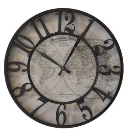 Eliassen Wall clock around 60 cm old card