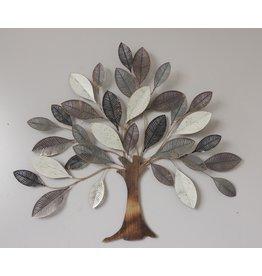 Wanddekoration Metall 3D Baum Lork