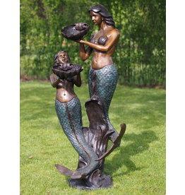 Bronze Nixenbrunnen