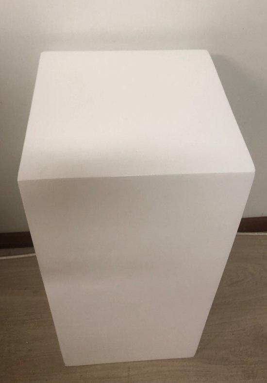 Eliassen Säule hochglanz weiß 60 cm