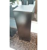 Eliassen Säule Silber-Metall Farbe 80 cm