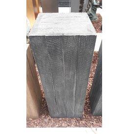 Eliassen Base Wood Dark gray 34x34x100cm