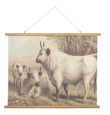 Eliassen Wall map Cattle 100x75cm