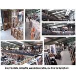 Eliassen Wandkarte Küche 80x100cm