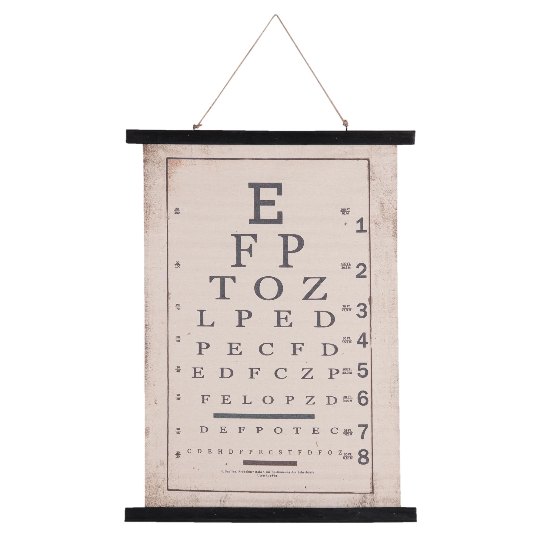 Eliassen Wall card Letters 55x75cm