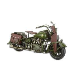 Eliassen Miniature model tin Army engine
