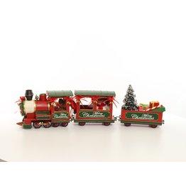 Eliassen Miniatuurmodel blik Kerst trein