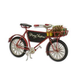 Eliassen Miniatuurmodel blik Kerst fiets