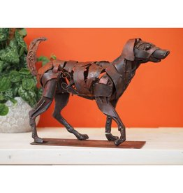 Eliassen Figure running dog