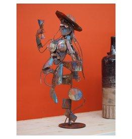 Eliassen Figure lady with wineglass