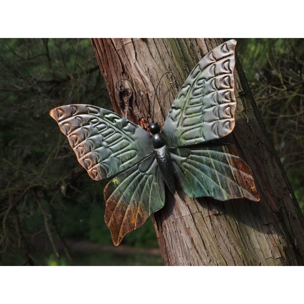 Muurdecoraties Voor Buiten.Muurdecoratie Vlinder Groot Eliassen Home Garden Pleasure