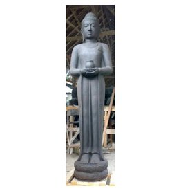 Eliassen Statue standing buddha with pot in 2 sizes