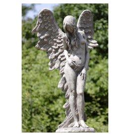 Eliassen Garden statue standing angel large