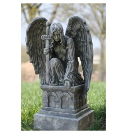 Eliassen Kneeling angel on pedestal