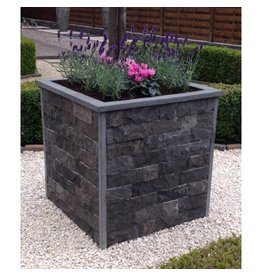 Flower box for brick slips