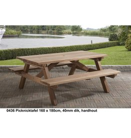 Talen Staphorst Picknicktafel hardhout 180cm