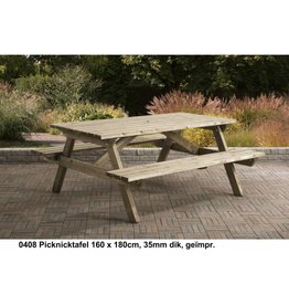 Talen Staphorst Picnic table Languages ​​180cm long