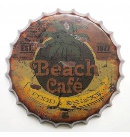Eliassen Bierdeckel Wanddekoration Beach Cafe in 2 Größen