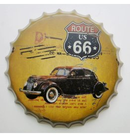 Eliassen Beer cap wall decoration Route 66 US