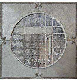 Eliassen 3D schilderij metaal 71x71x4cm Gulden
