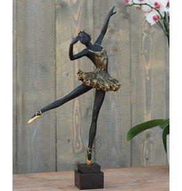Eliassen Beeld brons ballerina 50 cm