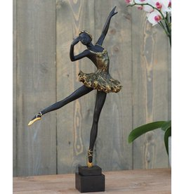 Eliassen Sculpture bronze ballerina 50 cm