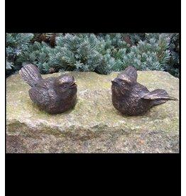 Eliassen Image bronze pair of birdies