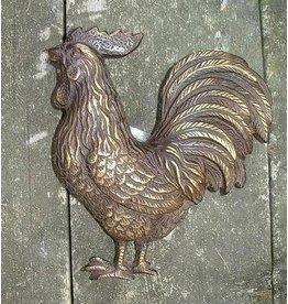 Eliassen Door knocker bronze rooster