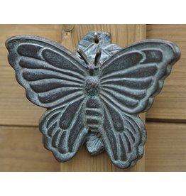 Eliassen Door knocker bronze butterfly