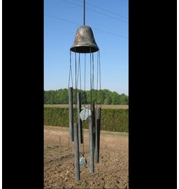 Eliassen Wind chimes bronze big bell with pineapples