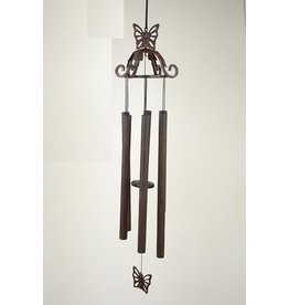 Eliassen Wind chimes bronze 70 cm butterfly