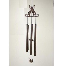 Eliassen Windgong brons 70 cm vlinder