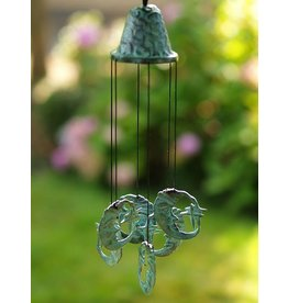 Eliassen Wind chimes bronze with moons