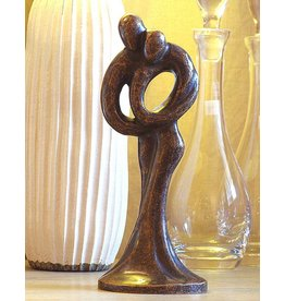 Eliassen Image bronze small abstract love couple