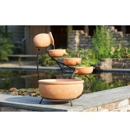 Ubbink Waterfall element Ubbink terracotta 2 sizes
