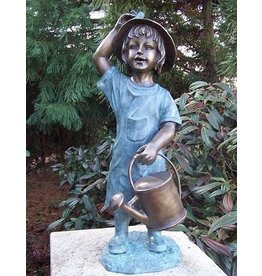 Eliassen Beeld brons meisje met gieter