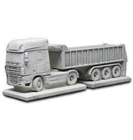 Eliassen Flower box concrete Daf with trailer