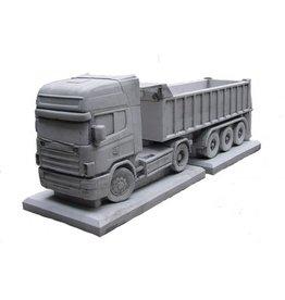 Eliassen Flower tray concrete Scania with trailer