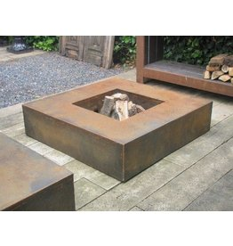 Adezz Producten Fire table Adezz square 2 sizes