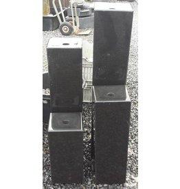 Eliassen Wasser schwarz Granitsäulen 4 Größen
