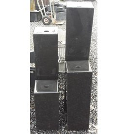 Eliassen Water columns black granite 4 sizes