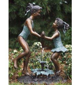 Eliassen Bronze image jumping girls