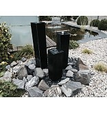 Eliassen Waterzuilen zwarte basalt 4 maten
